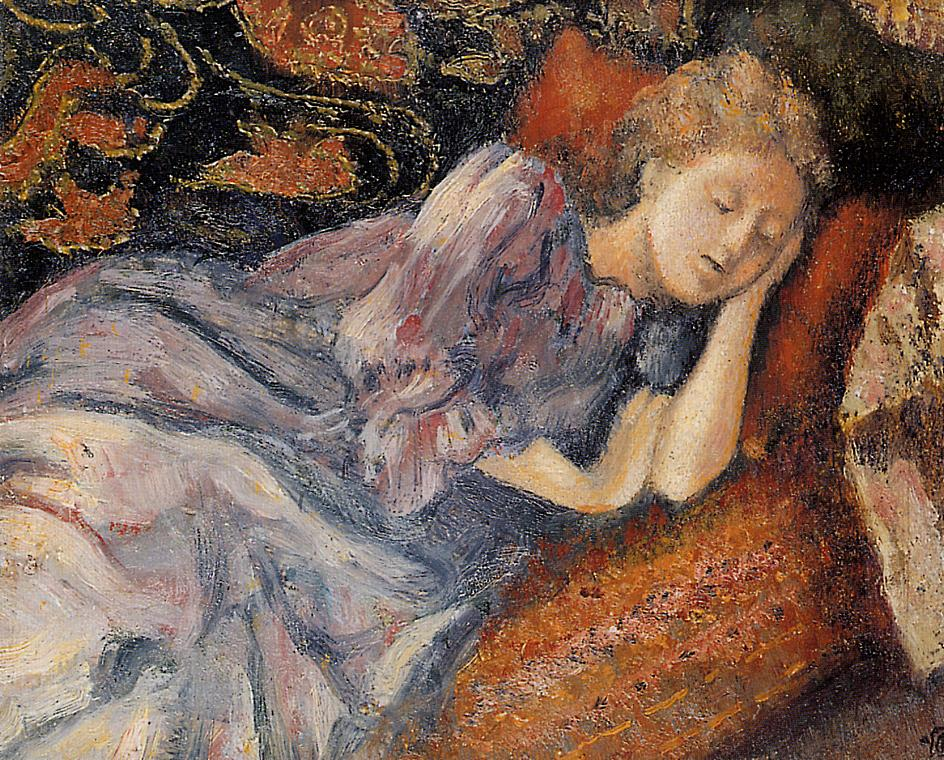 Sleep 1900 | Georges Lemmen | Oil Painting