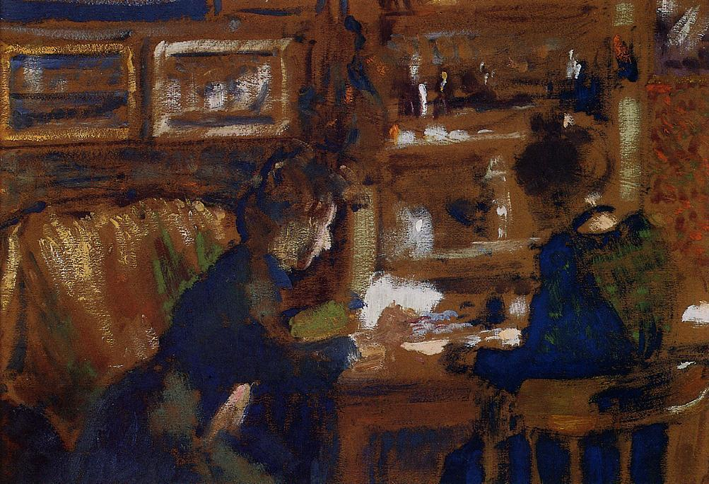 Two Women in an Interior 1903 | Georges Lemmen | Oil Painting