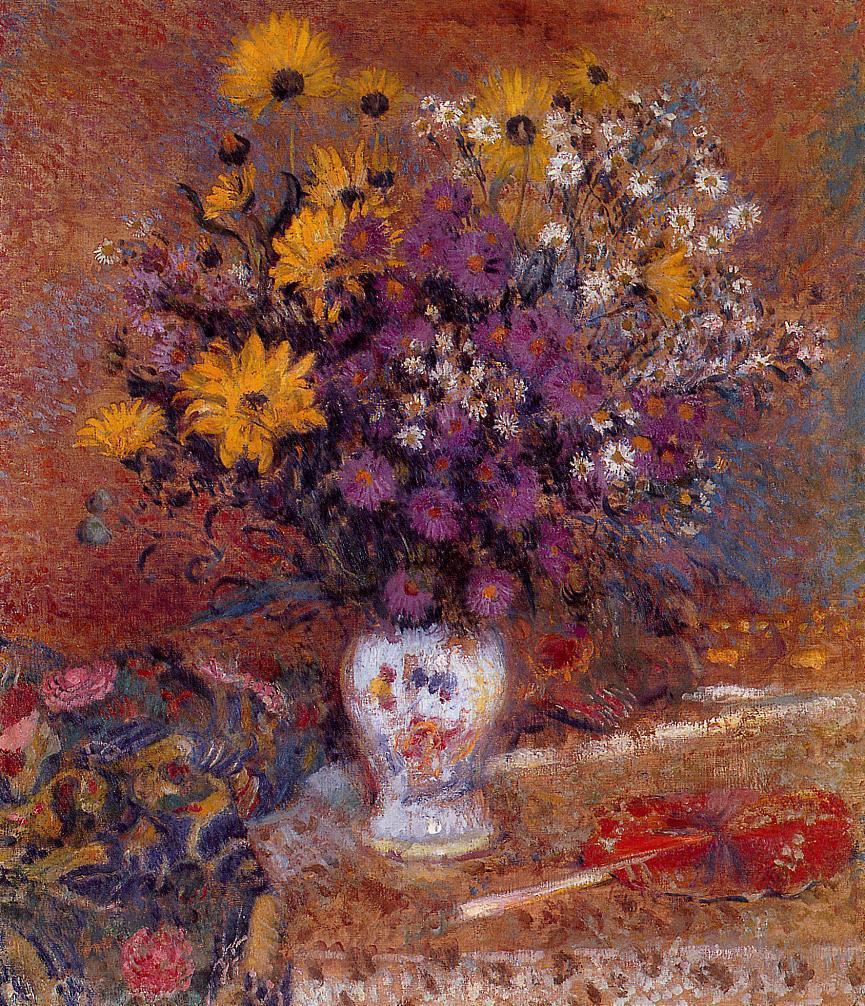 Vase of Flowers 1905-1910 | Georges Lemmen | Oil Painting