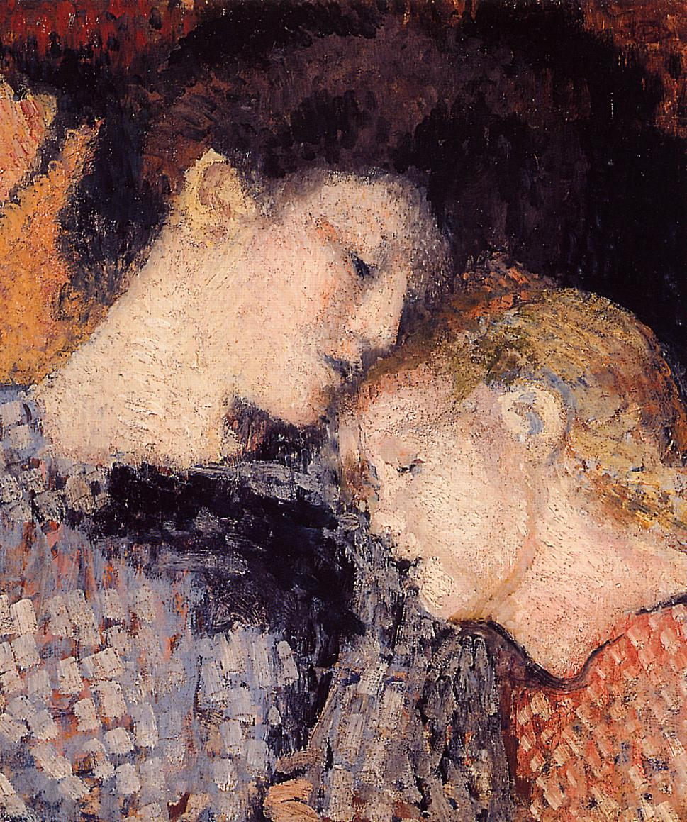 Woman and Child 1907 | Georges Lemmen | Oil Painting
