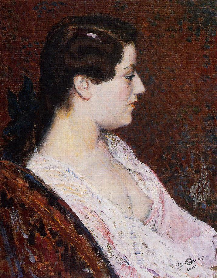 Woman with Bared Breast 1907 | Georges Lemmen | Oil Painting