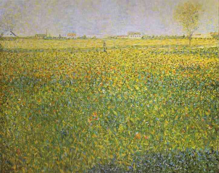 Alfalfa La Lucerne Saint Denis 1885-86 | Georges Seurat | Oil Painting
