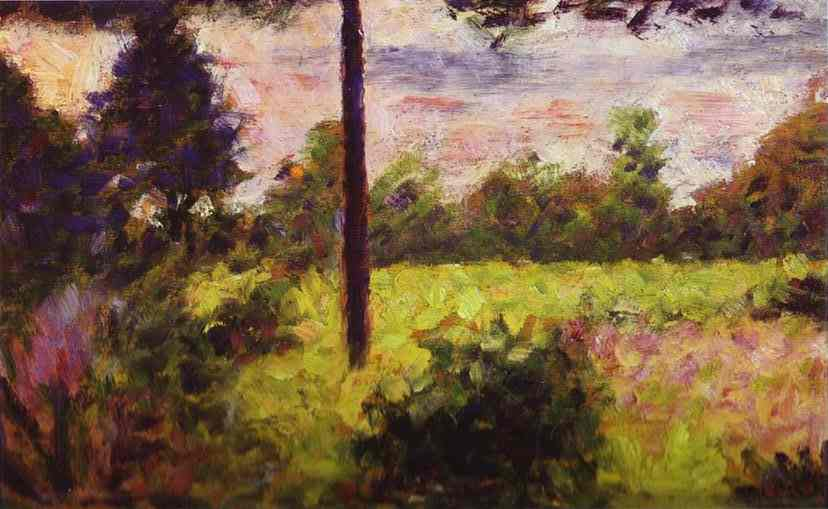 Forest Of Barbizon 1883 | Georges Seurat | Oil Painting