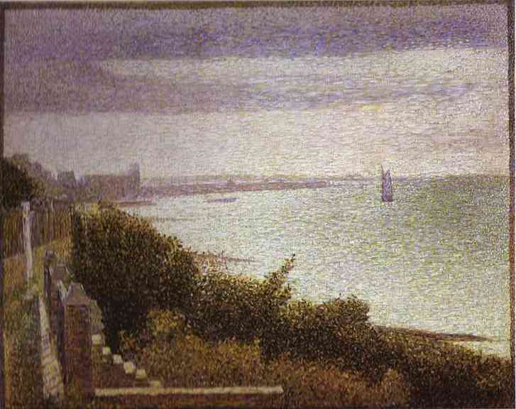 Grandcamp Evening 1885 | Georges Seurat | Oil Painting