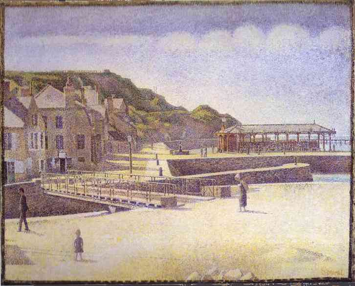 Port En Bessin 1888 | Georges Seurat | Oil Painting