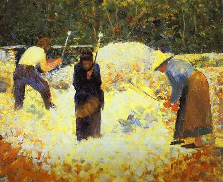 Rock Breakers Le Raincy 1882 | Georges Seurat | Oil Painting