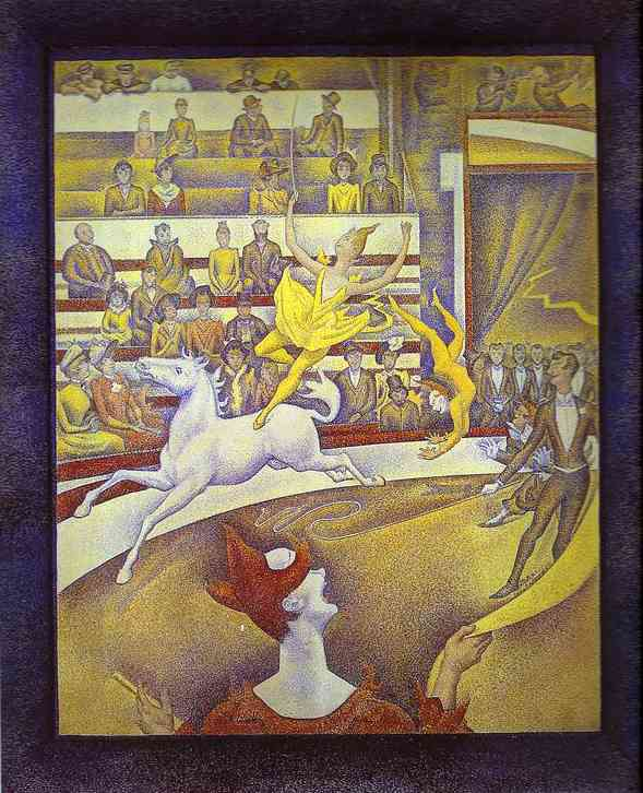 The Circus 1890-91 | Georges Seurat | Oil Painting