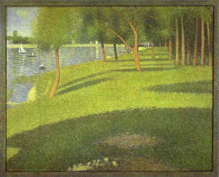 The Island Of La Grande Jatte 1884 | Georges Seurat | Oil Painting