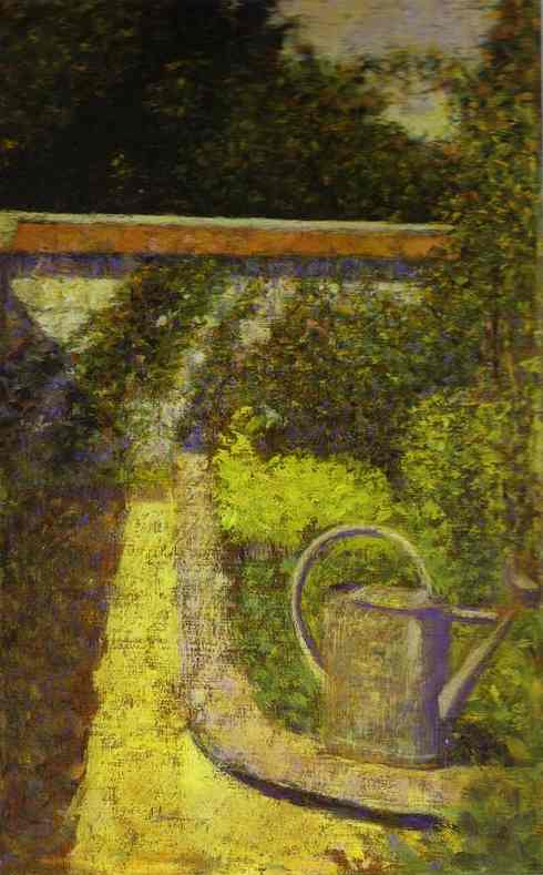 Watering Can 1883 | Georges Seurat | Oil Painting