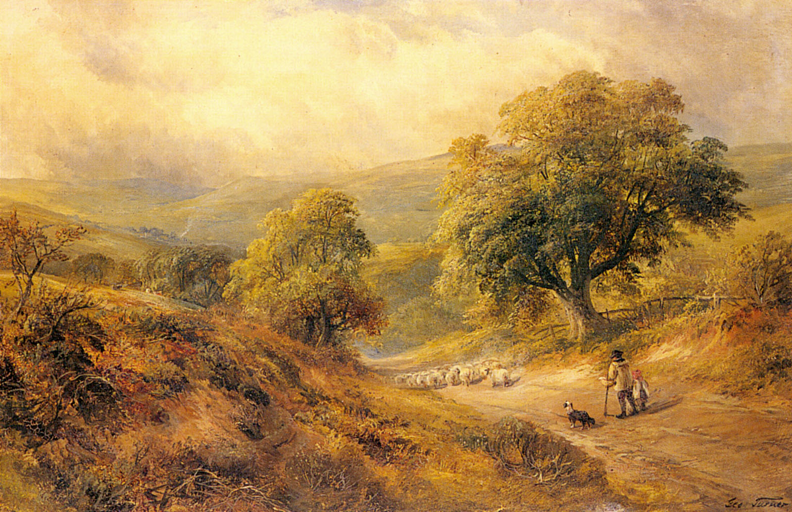 Cross O The Hands Derbyshire | George Turner | Oil Painting