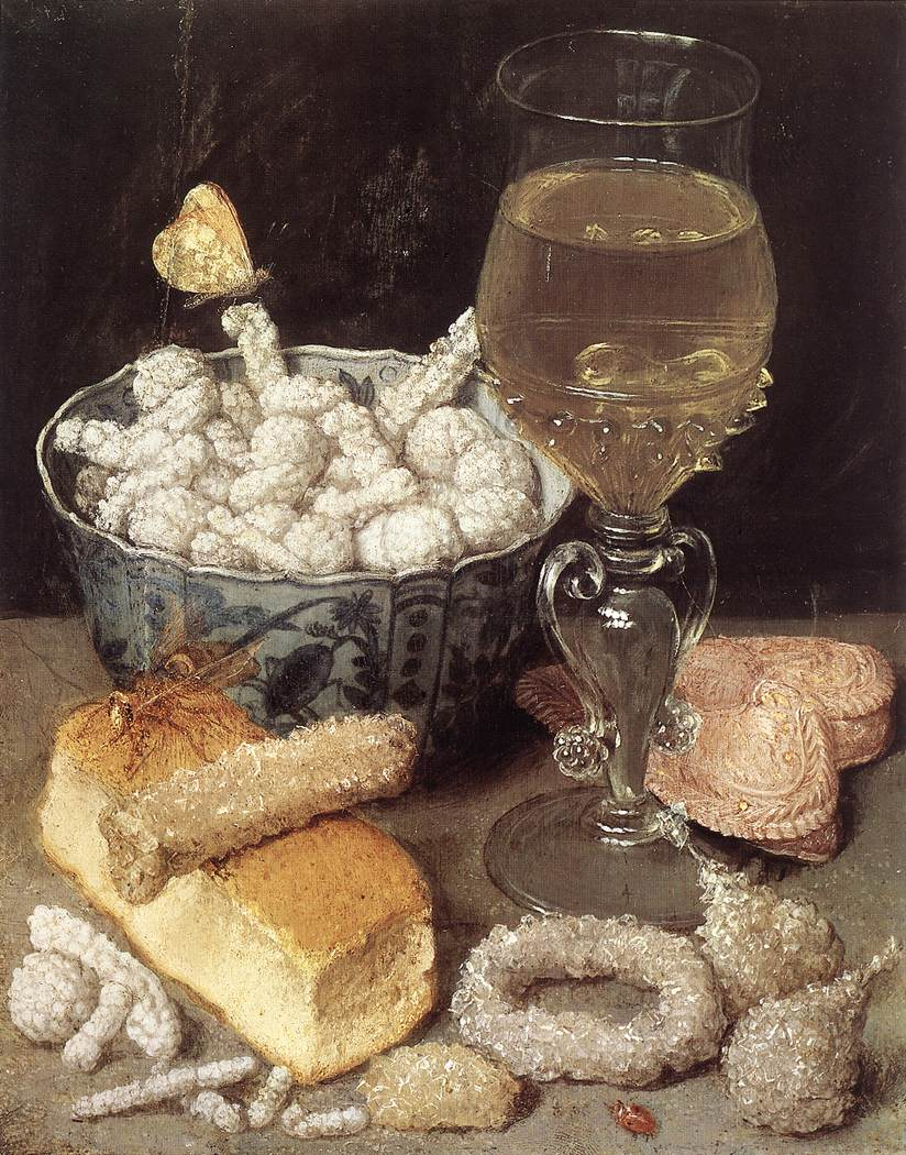 Still Life With Bread And Confectionary | George Flegel | Oil Painting