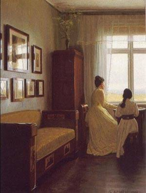 Interior | Georg Nicolaj Achen | Oil Painting