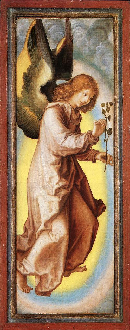 Angel 1525-30 | Georg Pencz | Oil Painting