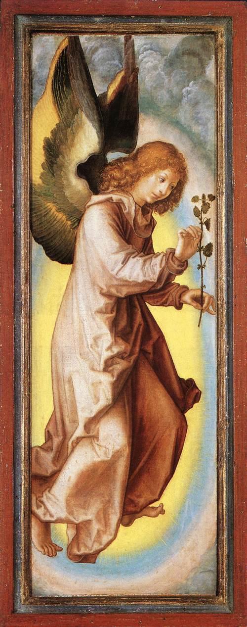 Angel 1525-30 | Georg Pencz | Oil Painting