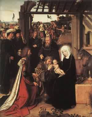 Adoration Of The Magi 1500 | Gerard David | Oil Painting