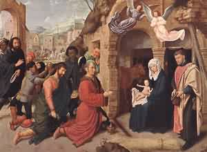 Adoration Of The Magi | Gerard David | Oil Painting