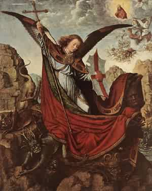 Altarpiece Of St Michael | Gerard David | Oil Painting