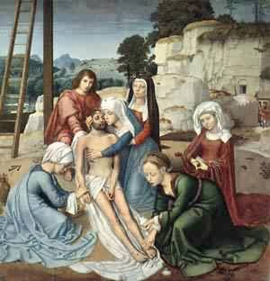 Deposition | Gerard David | Oil Painting