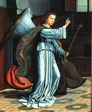 The Annunciation 1506 | Gerard David | Oil Painting