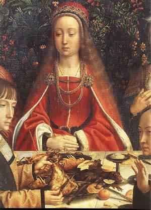The Marriage At Cana (Detail) 1500 | Gerard David | Oil Painting