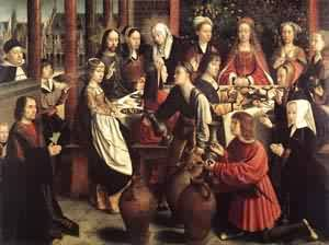 The Marriage At Cana 1500 | Gerard David | Oil Painting