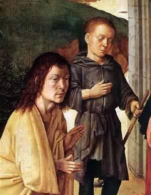 The Nativity (Detail) 1490 | Gerard David | Oil Painting