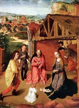 The Nativity 1490 | Gerard David | Oil Painting