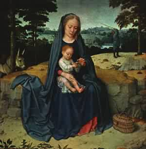 The Rest On The Flight Into Egypt 1510 | Gerard David | Oil Painting