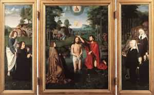 Triptych Of Jan Des Trompes 1505 | Gerard David | Oil Painting