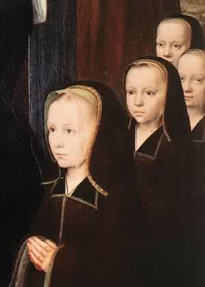 Triptych Of Jean Des Trompes (Detail) 1505 | Gerard David | Oil Painting