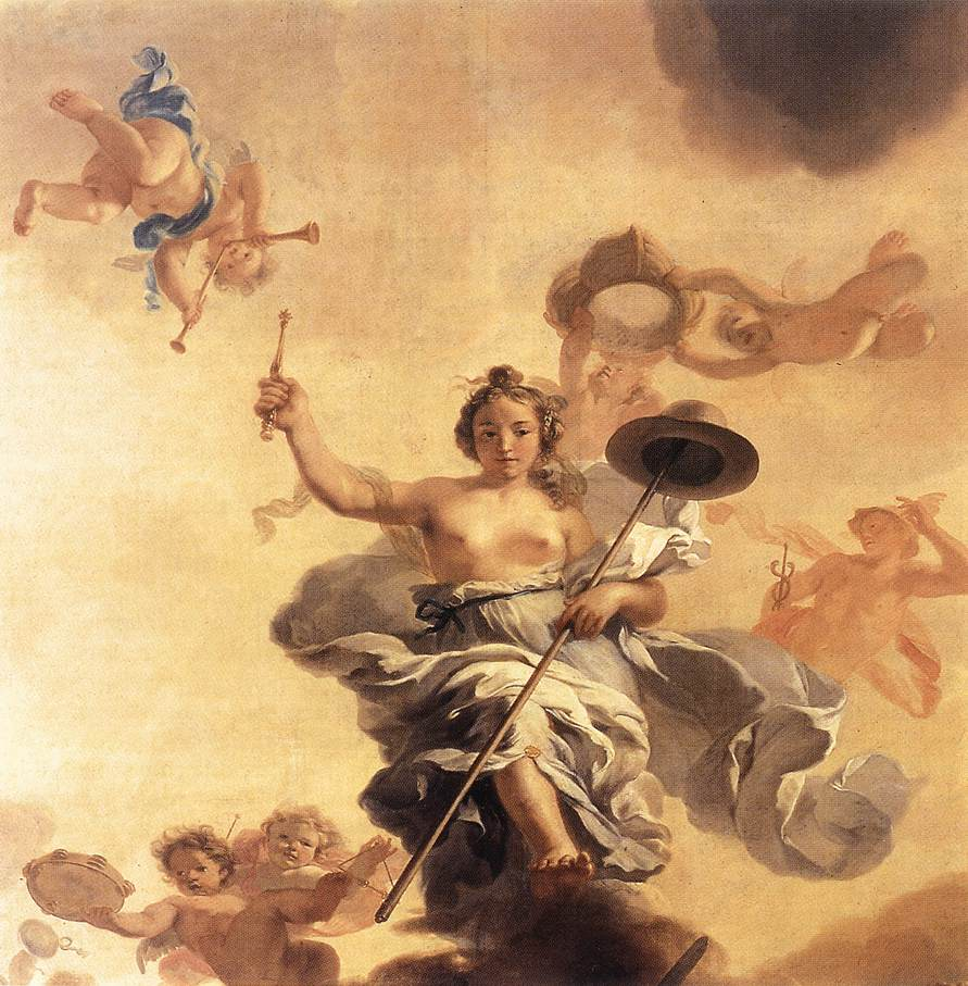 Allegory Of The Freedom Of Trade 1672 | Gerard De Lairesse | Oil Painting