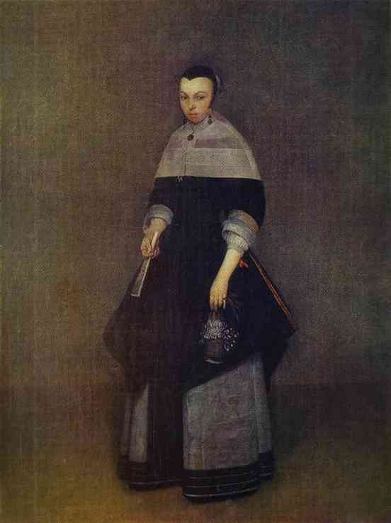 Portrait Of A Lady | Gerard Terborch | Oil Painting