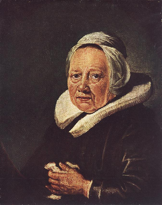 Portrait Of An Old Woman 1643-45 | Gerrit Dou | Oil Painting