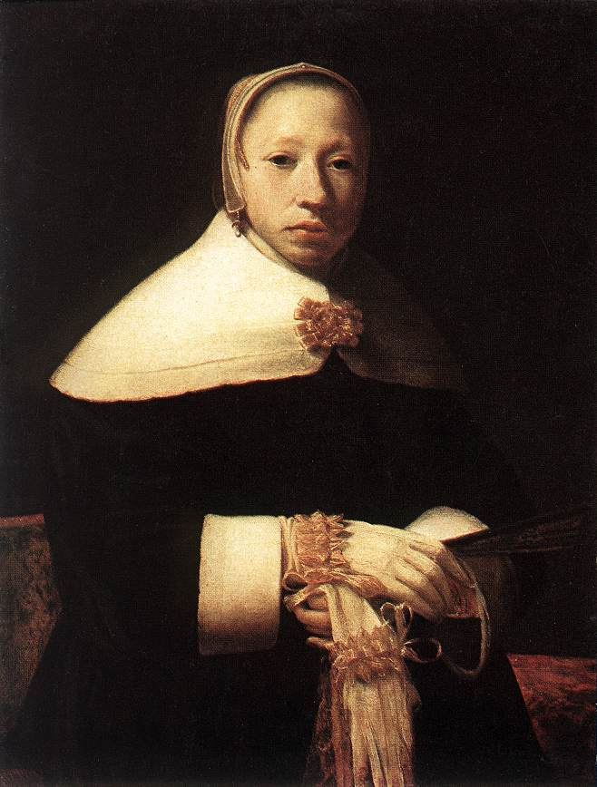 Portrait Of A Woman | Gerrit Dou | Oil Painting