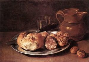 Still Life 1750s | Giacomo Ceruti | Oil Painting