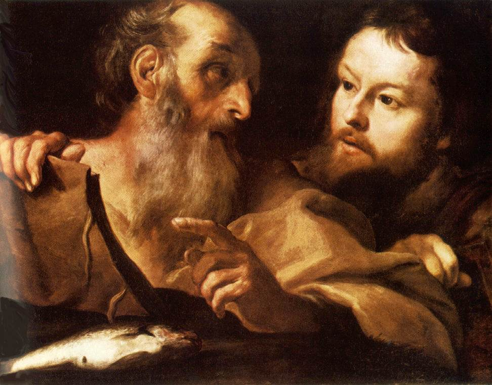 Saint Andrew And Saint Thomas C1627 | Gian Lorenzo Bernini | Oil Painting