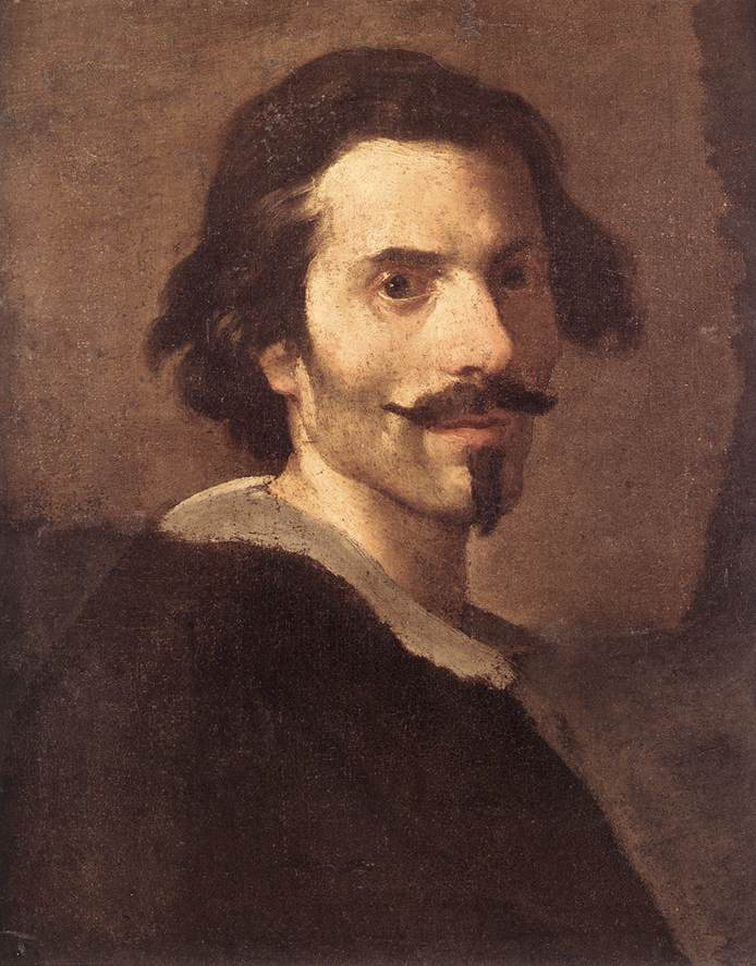 Self-Portrait As A Mature Man 1630-35 | Gian Lorenzo Bernini | Oil Painting
