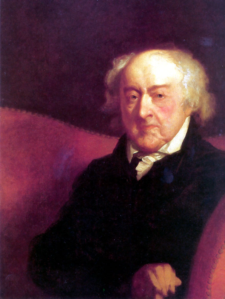 John Adams | Gilbert Stuart | Oil Painting