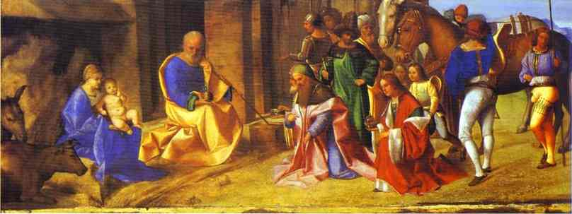 Adoration Of The Magi 1502-1504 | Giorgione | Oil Painting