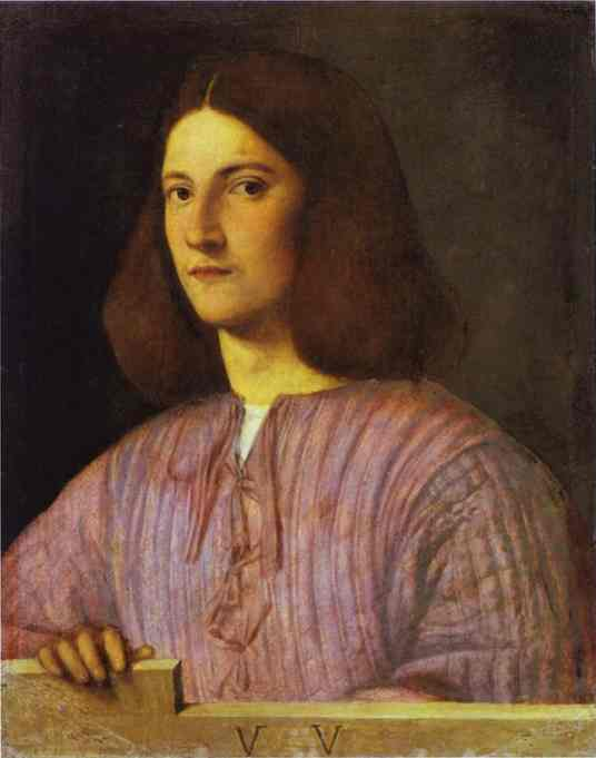 A Young Man 1505-1506 | Giorgione | Oil Painting
