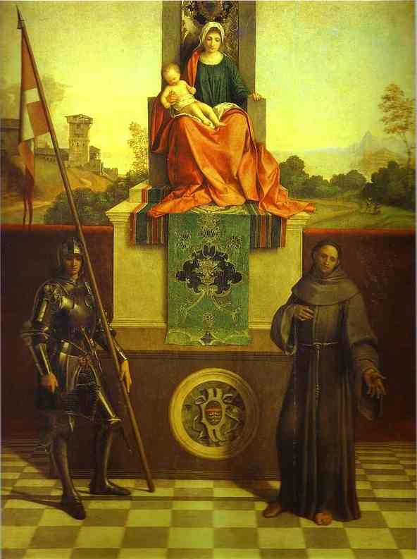 Castelfranco Madonna 1506 | Giorgione | Oil Painting
