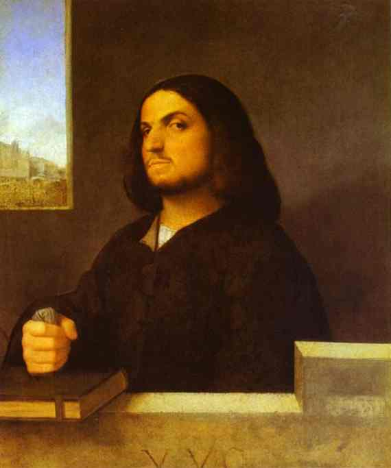 Giorgione And Titian Portrait Of A Venetian Gentleman 1510 | Giorgione | Oil Painting