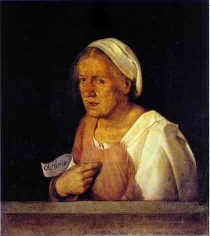 La Vecchia 1502-1503 | Giorgione | Oil Painting