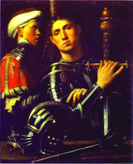 Portrait Of A Gentleman In Armor 1510 | Giorgione | Oil Painting