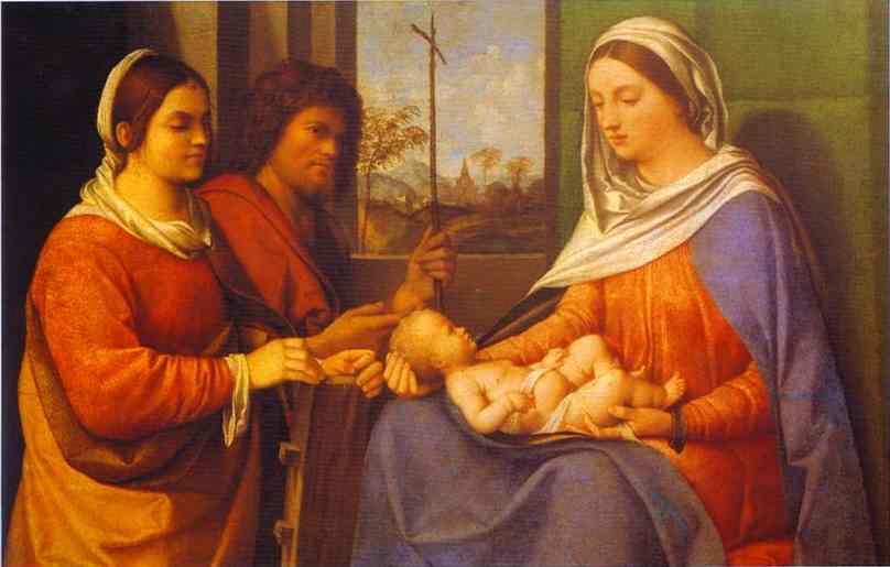 Sacra Conversazione 1505 | Giorgione | Oil Painting