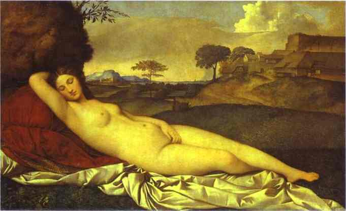 Sleeping Venus 1508 | Giorgione | Oil Painting