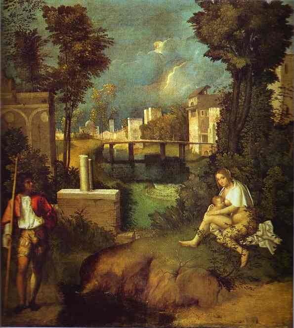 The Tempest 1510 | Giorgione | Oil Painting