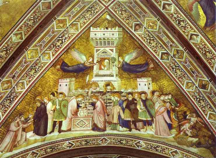 Allegory Of Chastity 1316-19 | Giotto | Oil Painting