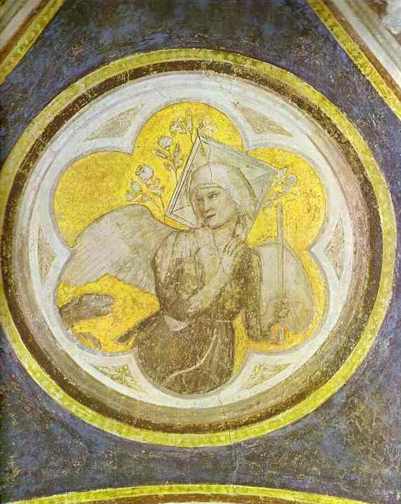 Allegory Of Chastity 1320s | Giotto | Oil Painting