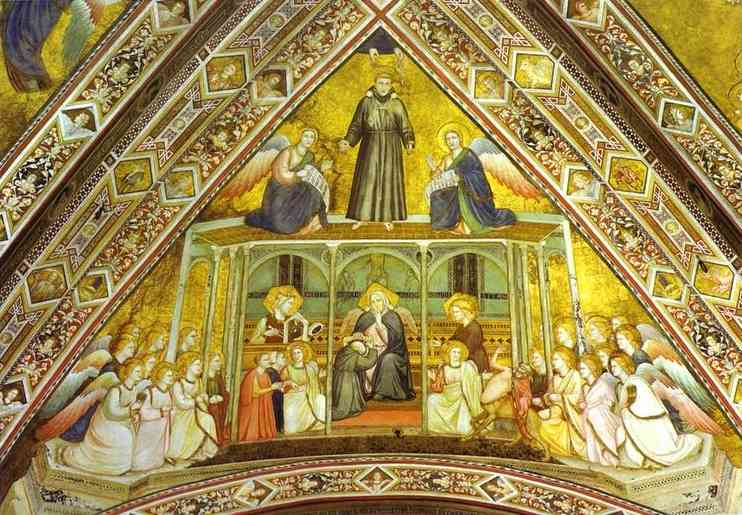 Allegory Of Obedience 1316-19 | Giotto | Oil Painting